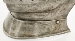 ANTIQUE VISOR, BUFF AND NECK PLATE FOR A CLOSE HELMET - Fagan Arms