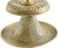 FINE INDOPERSIAN CANDLE STICK
