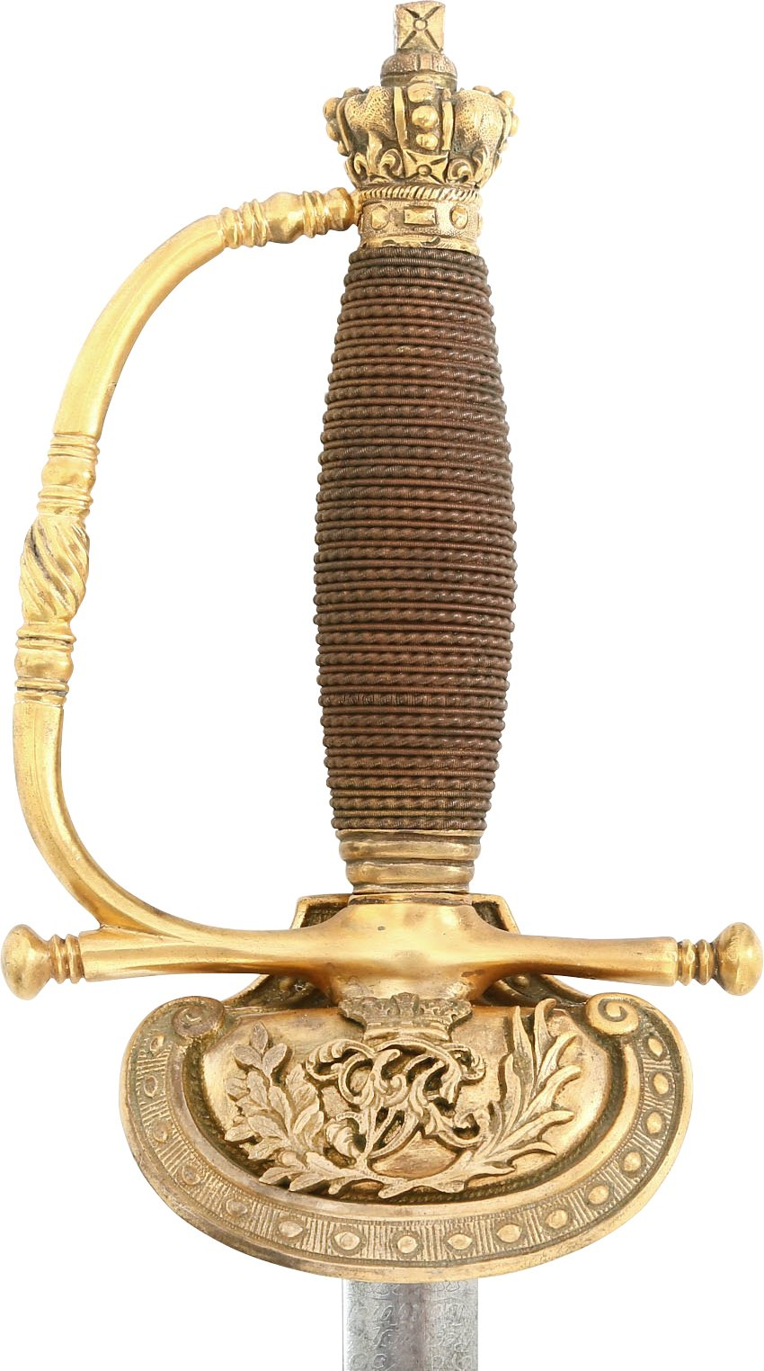 BRITISH COURT SWORD FOR A MEMBER OF THE ROYAL HOUSEHOLD, VICTORIAN PERIOD - Fagan Arms