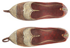 PAIR OF OTTOMAN TURKISH SHOES.