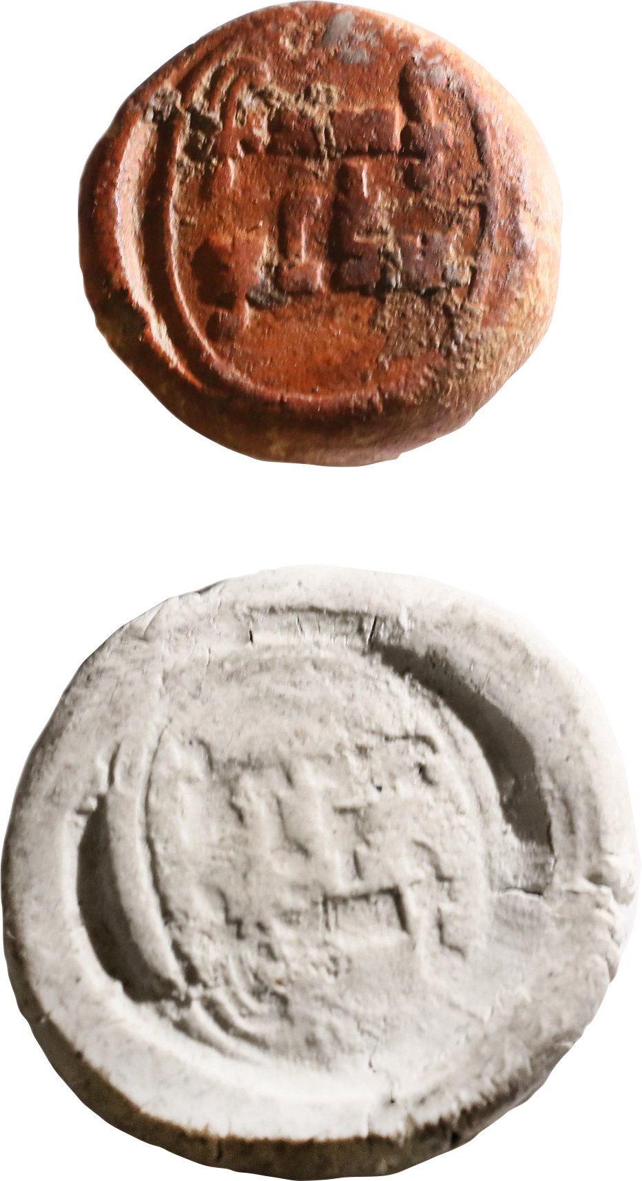 ROMAN THEATER TICKET OR TOKEN 2ND-3RD CENTURY AD - Fagan Arms