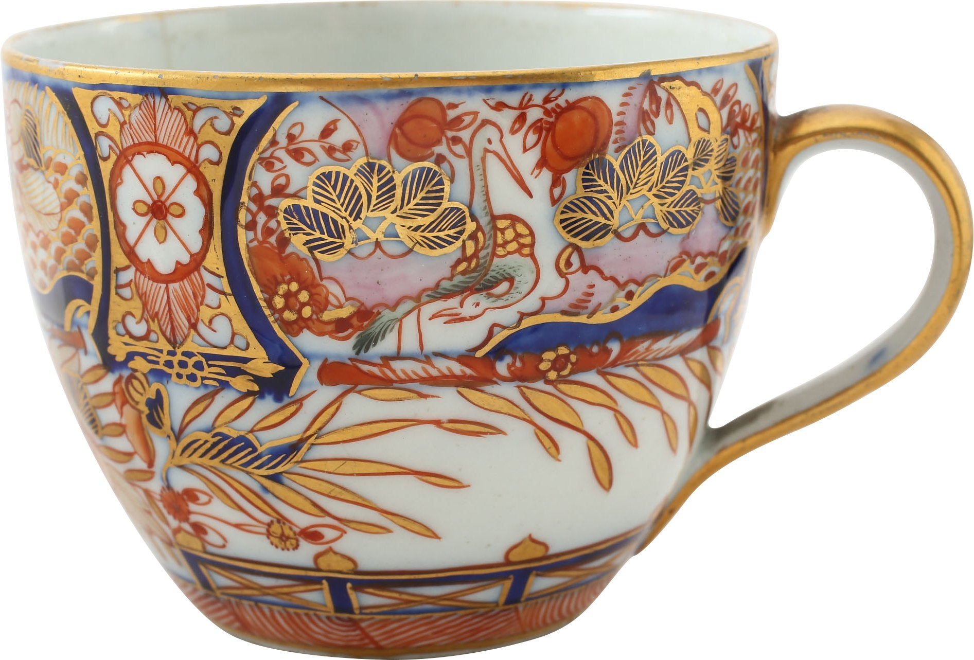 GRAINGER (WORCESTER) PORCELAIN TEA CUP C.1807 - Fagan Arms
