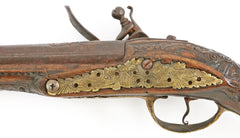 OTTOMAN TURKISH FLINTLOCK PISTOL C.1750-1800 - Fagan Arms