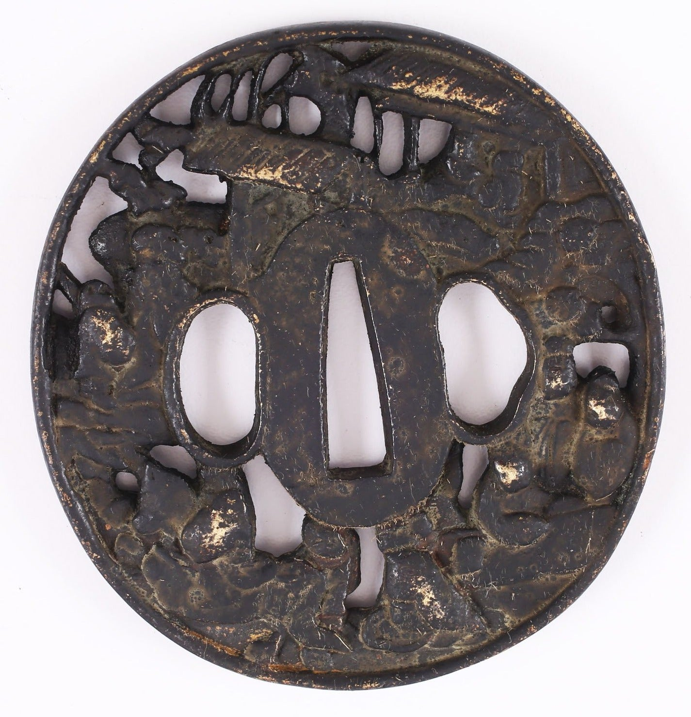 JAPANESE SWORD GUARD TSUBA - Fagan Arms