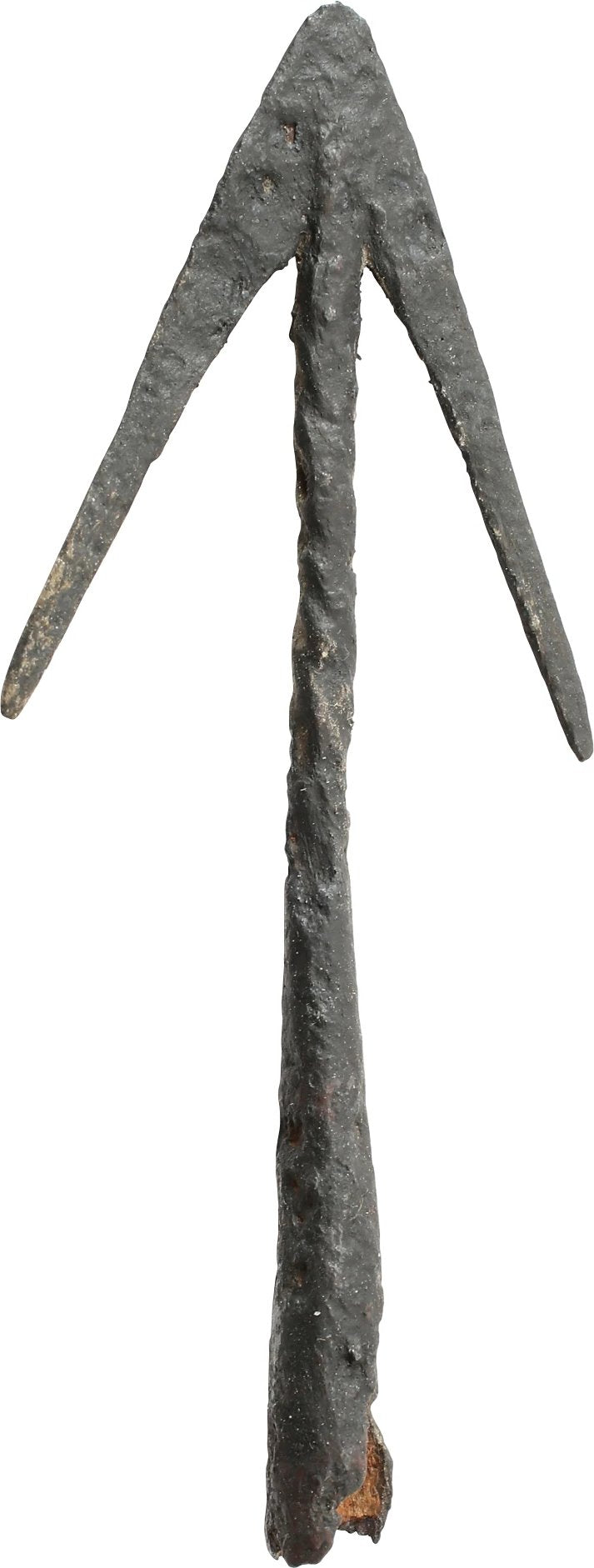 ELEGANT CRUSADER'S JAVELIN HEAD, MID 13TH CENTURY
