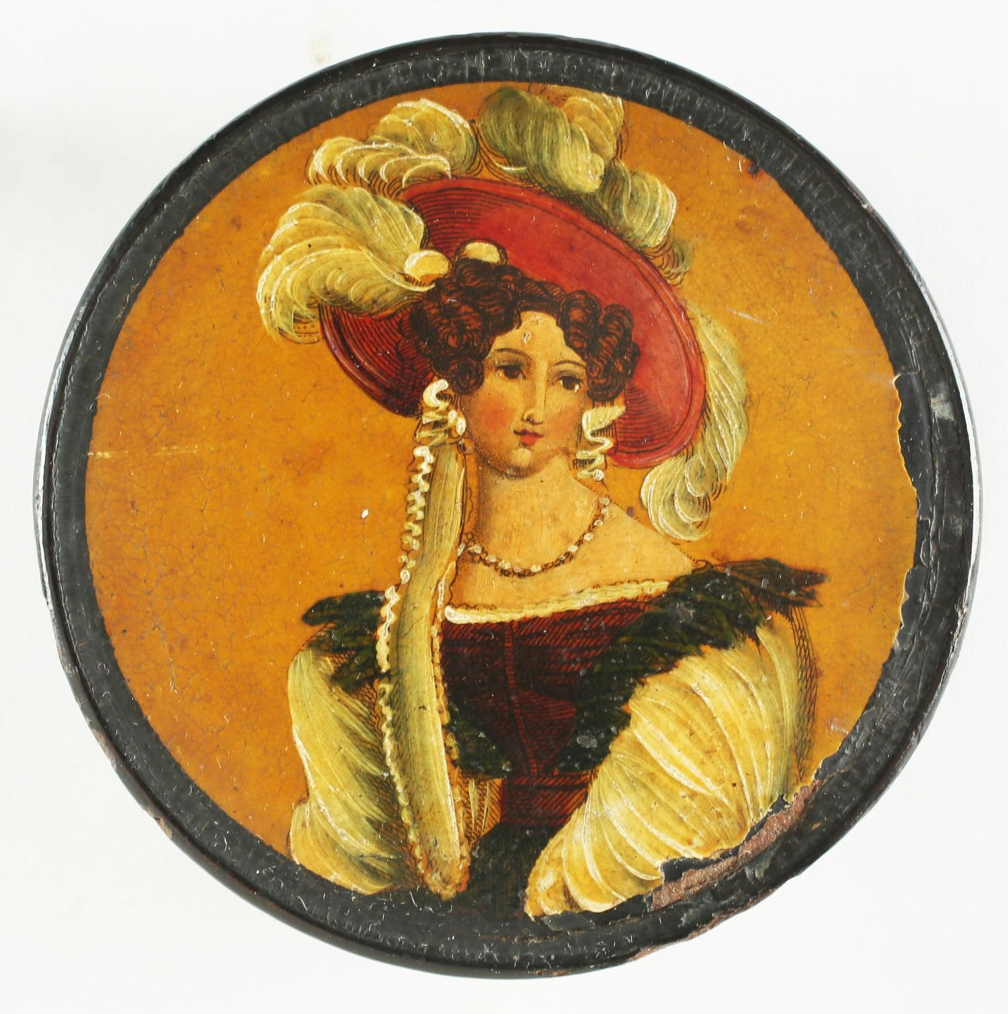 CHARMING EUROPEAN SNUFF BOX
