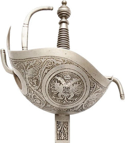 SPANISH COPY OF A CUP HILTED RAPIER C.1650-1700
