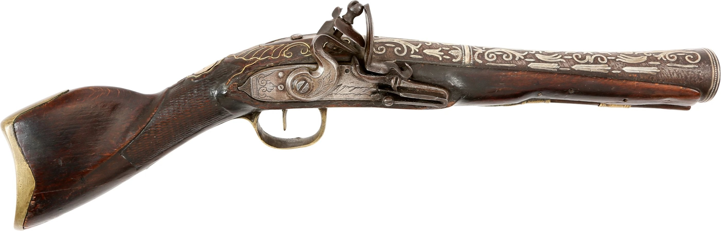 OTTOMAN TURKISH FLINTLOCK BLUNDERBUSS