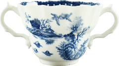 WORCESTER PORCELAIN CHOCOLATE CUP. C.1770-80 - Fagan Arms