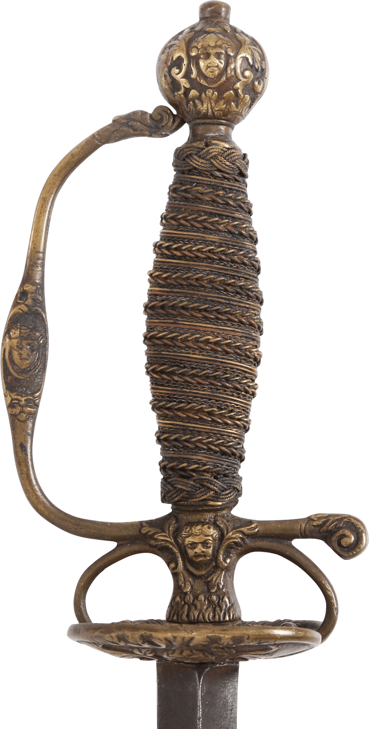 CHARMING BOHEMIAN OR HUNGARIAN SMALLSWORD C.1715 - Fagan Arms