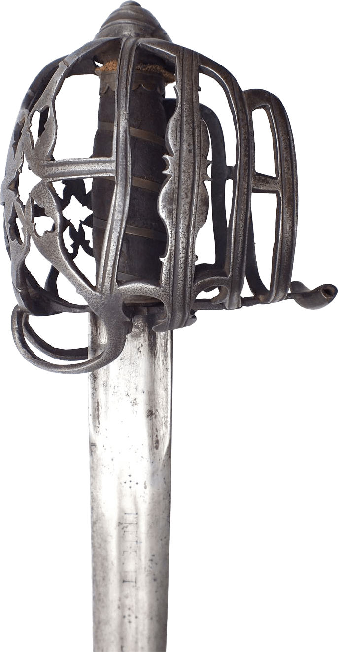 A Fine Scottish Basket Hilt Broadsword - Product