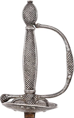 A French Silver Hilted Smallsword C.1785 Probably Paris - Product