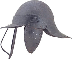 A Good English Harquebusiers Helmet Mid-17Th Century - Product