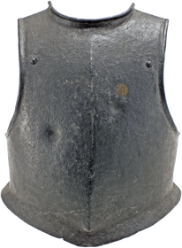 A MID-17th CENTURY ENGLISH DUPLEX CAVALRY BREASTPLATE