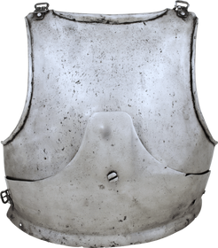 A RARE GERMAN GOTHIC BREASTPLATE C.1450-70