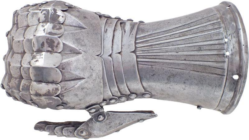 A Rare South German Gauntlet For The Right Hand C.1500-05 - Product