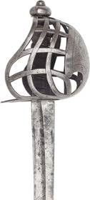 A SCOTTISH BASKET HILT BACK SWORD OF BREADALBANE TYPE