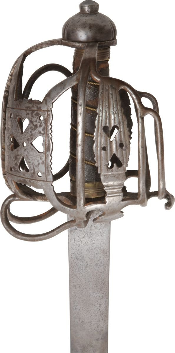 A Scottish Basket Hilted Backsword C.1725-45 - Product
