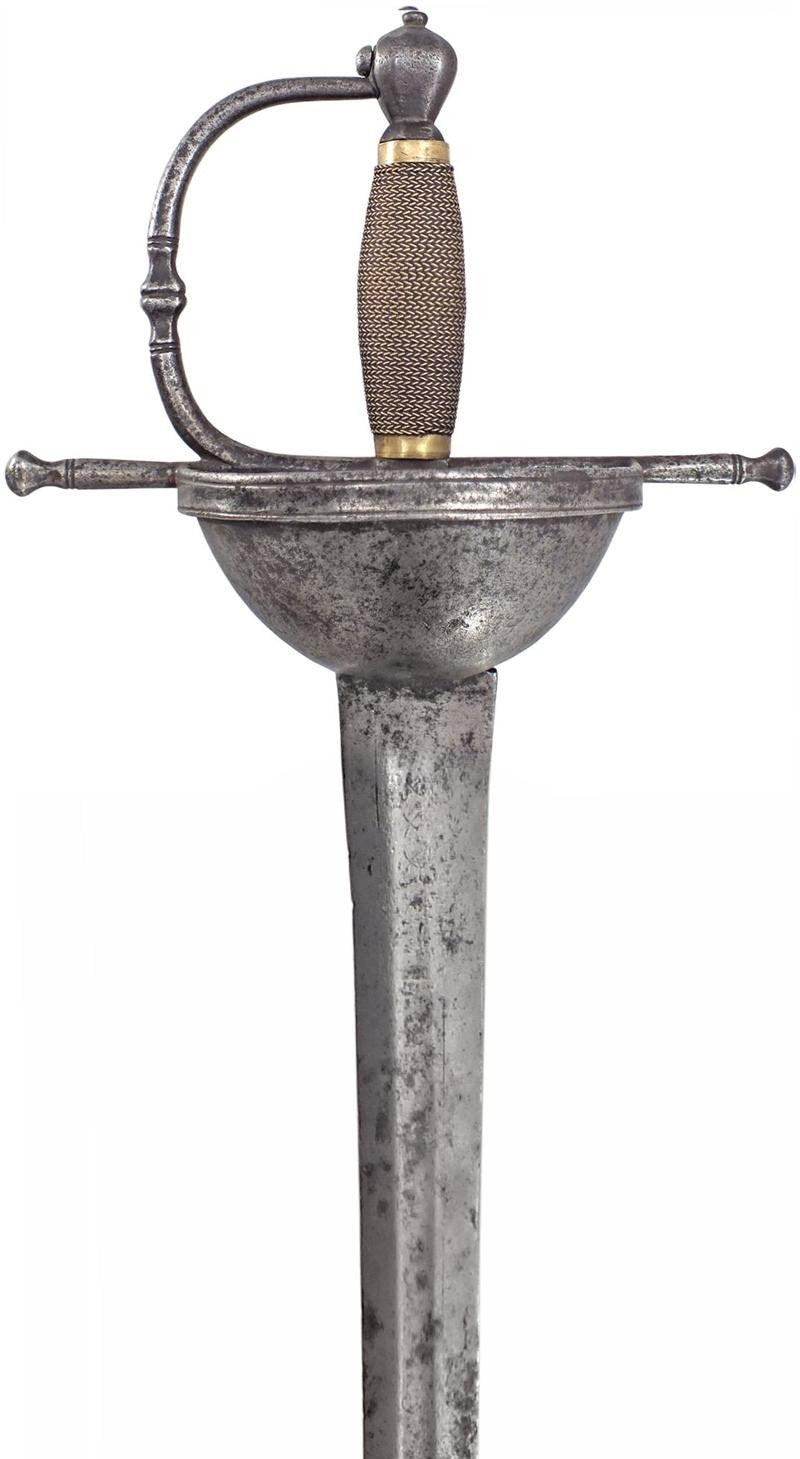 A Spanish Cup Hilt Broadsword C.1700 - Product