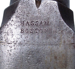 A UNIQUE PROTOTYPE US MILITARY MUSKET C.1840-50 BY FAMED MAKERS HASSAM BROTHERS OF BOSTON - Fagan Arms