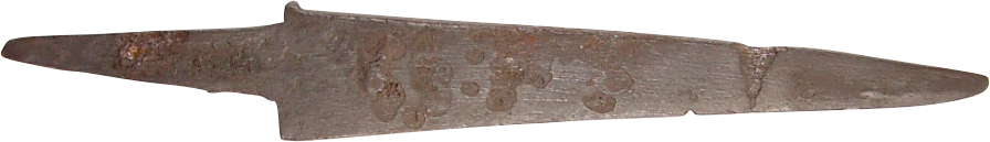 FINE AND RARE ROMAN SIDE KNIFE 2ND-4TH CENTURY AD