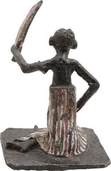 AFRICAN DAHOMEY FIGURE OF A SEATED ELDER - Fagan Arms