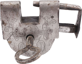 AFRICAN SLAVE TRADE LOCK