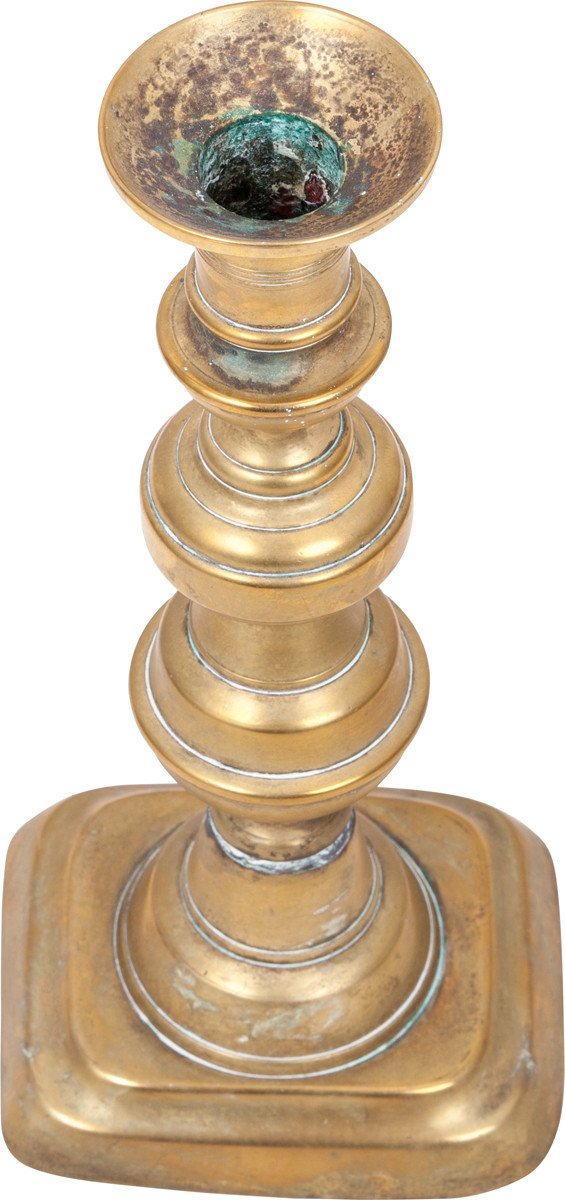 American Brass Candlestick - Product