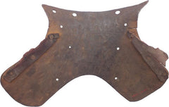 An Extremely Rare Abdominal Plate From A Stechzeug South German C.1490-1500 - Product