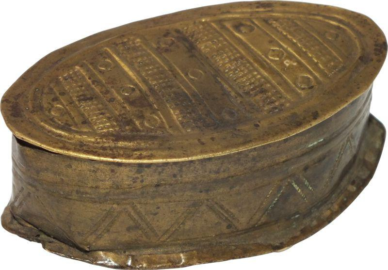 Ashanti Gold Dust Box C.1900 - Product