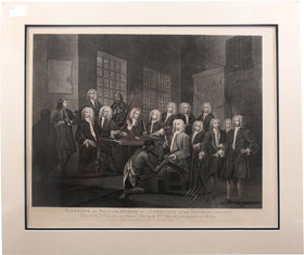 BAMBRIDGE ON TRIAL FOR MURDER BY A COMMITTEE OF THE HOUSE OF COMMONS, WILLIAM HOGARTH