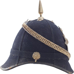 British Royal Marines Officers Blue Cloth Helmet C.1912 - Product