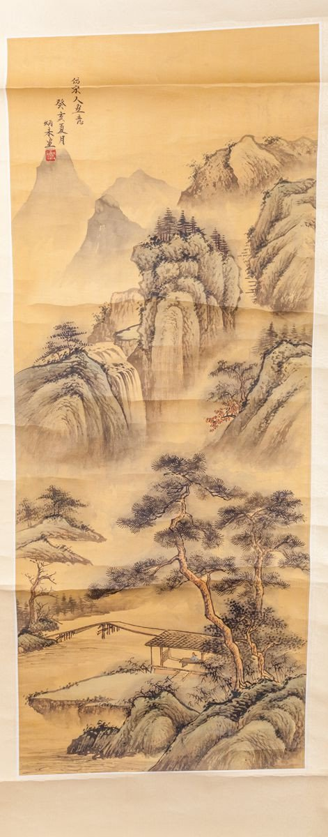 Chinese Hand Painted Scroll - Product