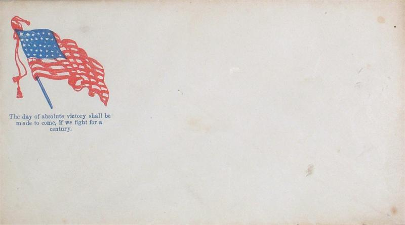 Civil War Patriotic Envelope - Product