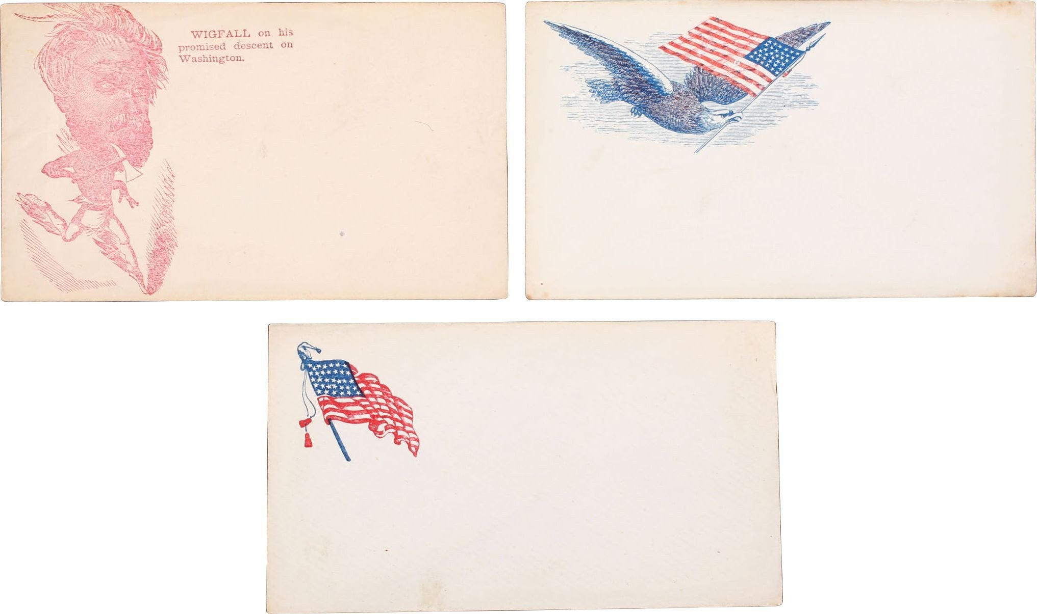 CIVIL WAR PATRIOTIC ENVELOPES - Fagan Arms