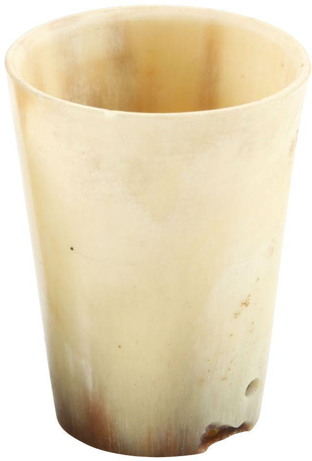 Colonial American Horn Cup - Product
