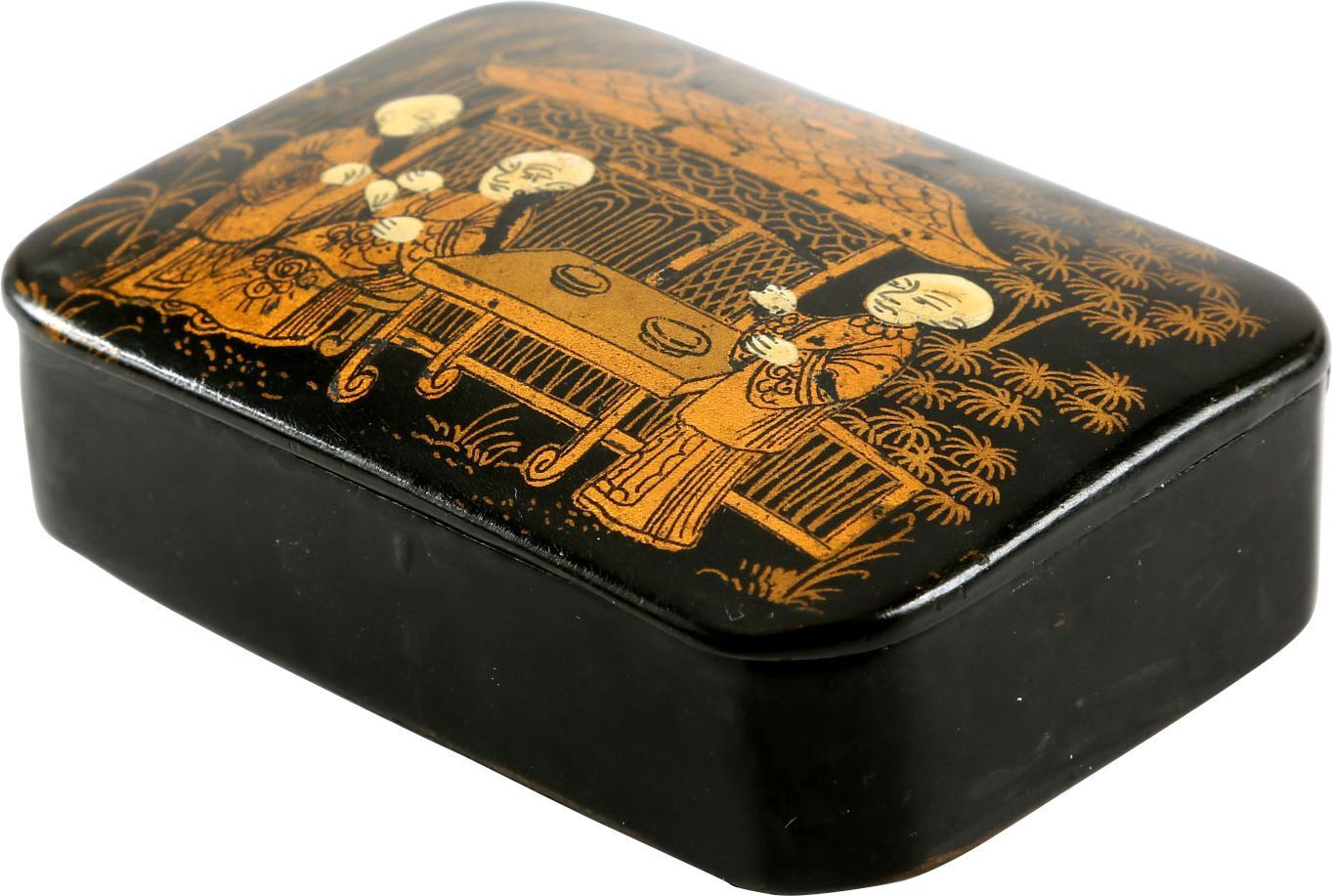Colonial American Tobacco Box - Product