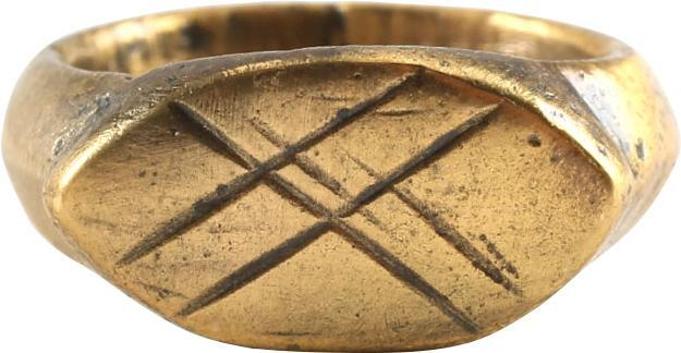 Early Christian Girls Ring 5Th-8Th Century Ad - Product