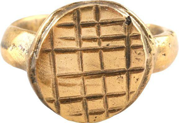 Early Christian Girls Ring 7Th-9Th Century Ad - Product