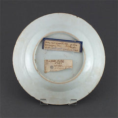 Early Evolutionary Lowestoft Dinner Plate C.1765 - Product