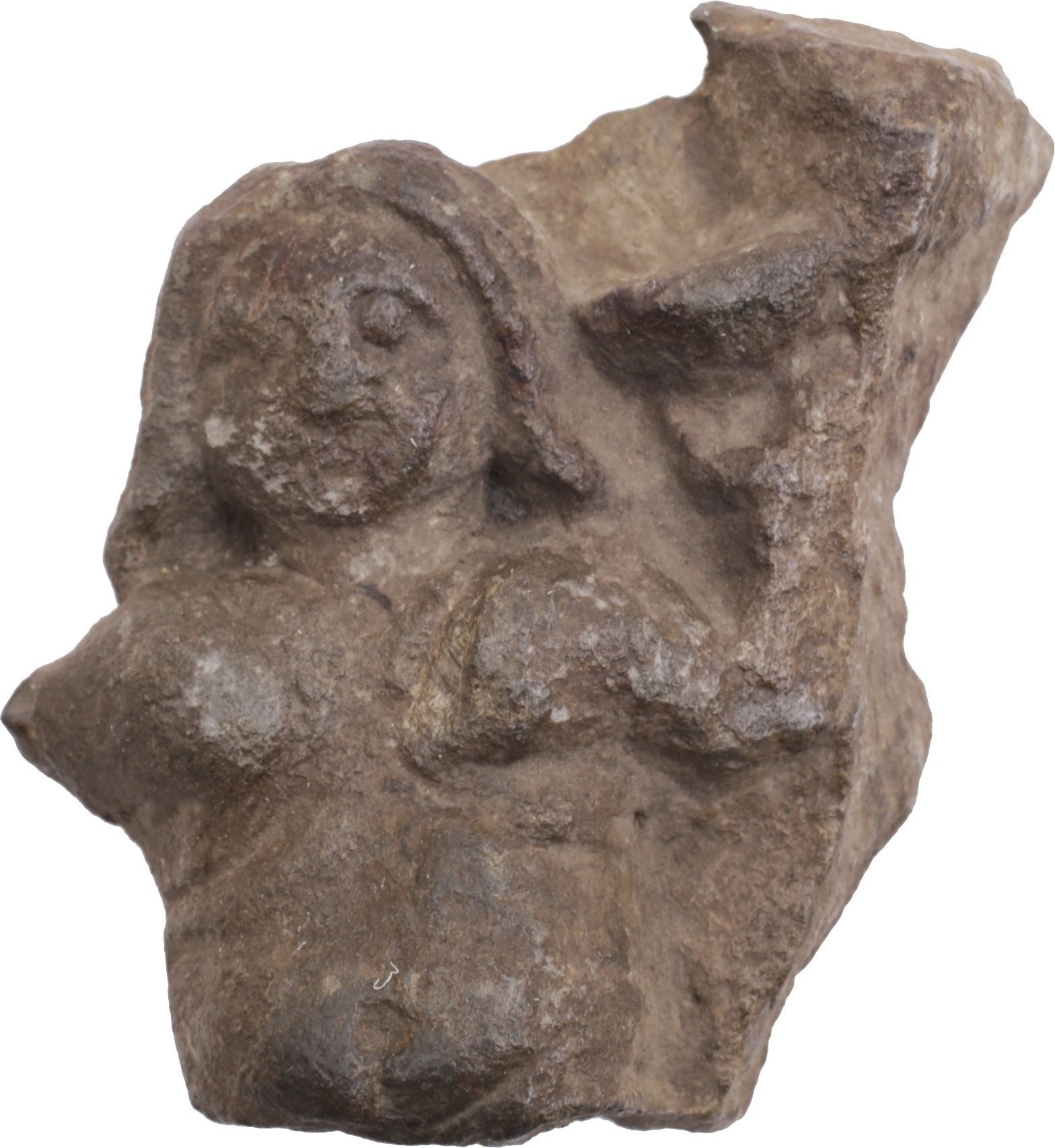EGYPTIAN CARVED STONE FIGURE - Fagan Arms
