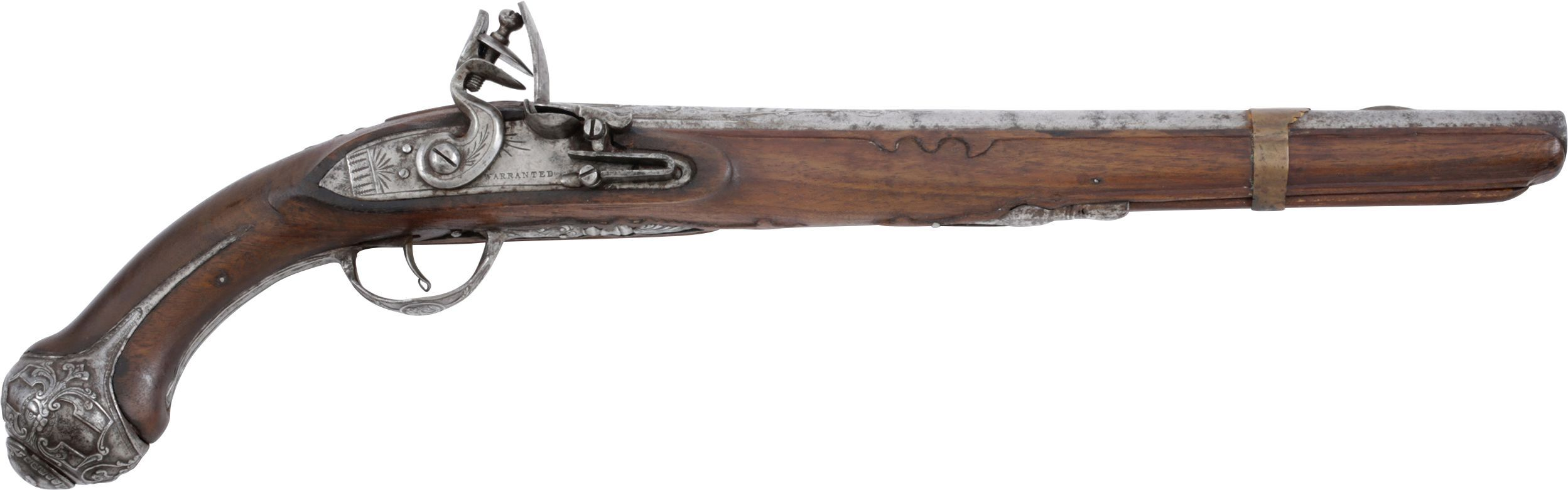 English Flintlock Pistol Made For The Turkish Market - Product