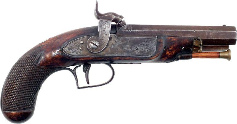 English Man Stopper Pistol C.1840 - Product