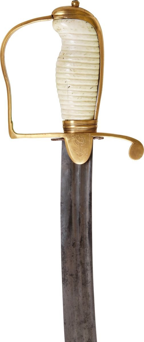 English Naval Officers Battle Sword C.1800 - Product