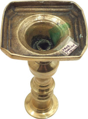 English Or American Brass Candle Stick C.1810-20 - Product