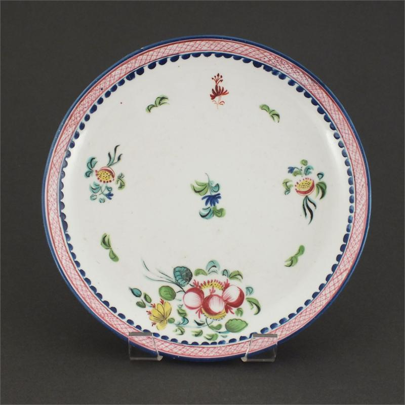 English Porcelain Plate C.1780-90 - Product