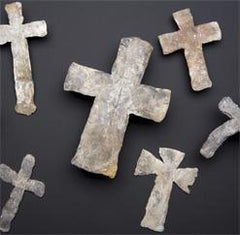 ANCIENT ENGLISH MORTUARY CROSS, 14th CENTURY