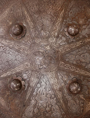 Ex-Newark Museum Collection! INDOPERSIAN IRON SHIELD - Fagan Arms