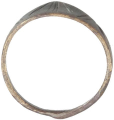 Extraordinary Saracen Archers Thumb Ring Made For A Child 12Th-13Th Century - Product