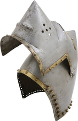 Fine Antique/vintage Copy Of A 14Th Century Hound Face Bascinet C.1380 - Product